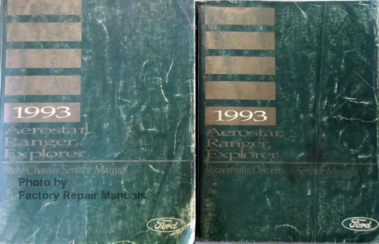 Ford explorer mazda navajo service manual 1995 1994 1993 1992 1991.