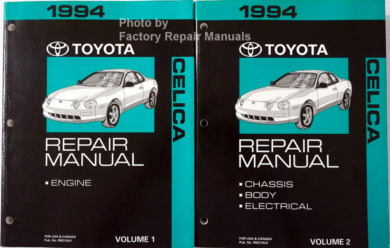 1994 Toyota Camry Wiring Diagram Manual Original