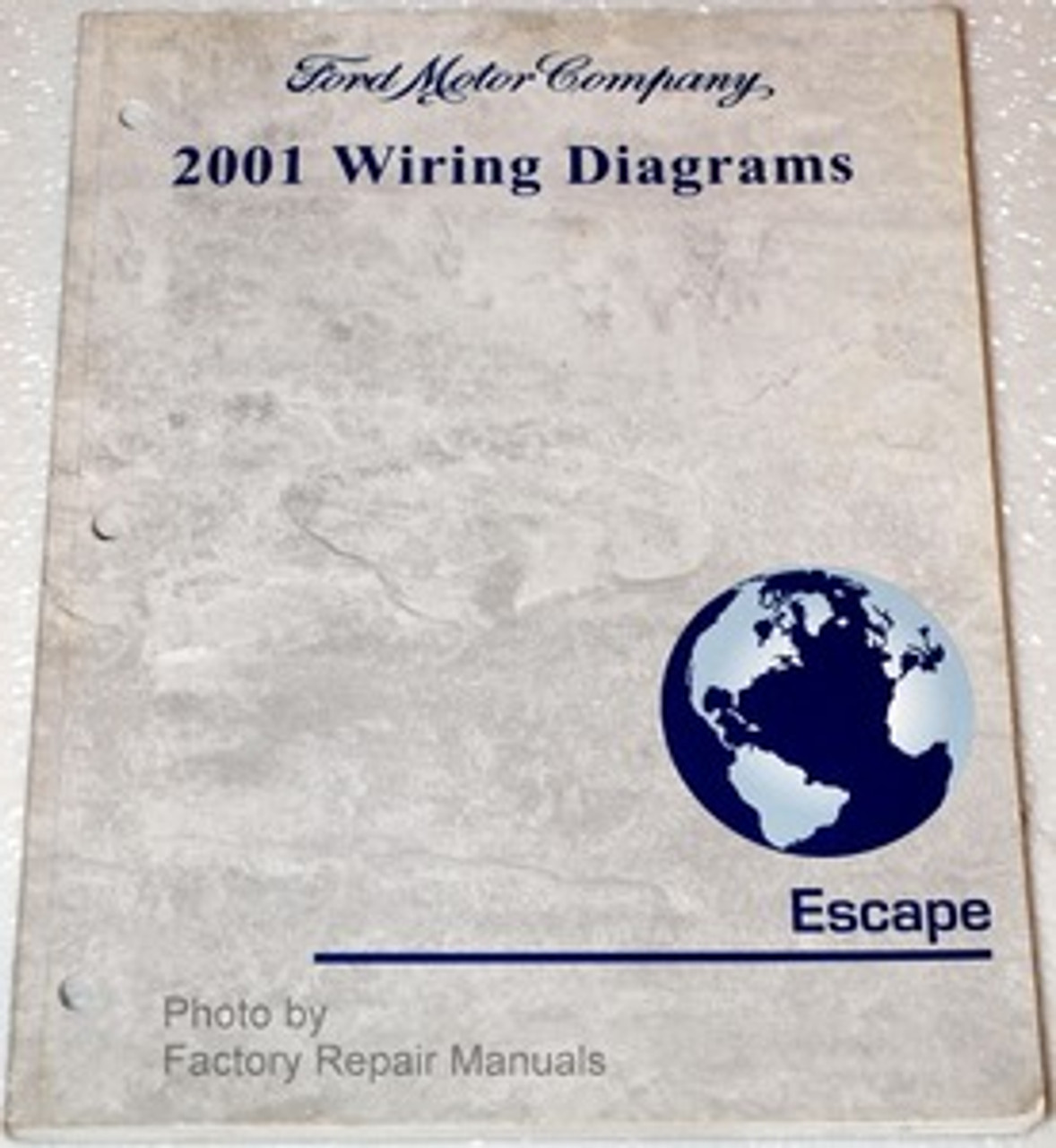 2001 Ford Escape Electrical Wiring Diagrams Original