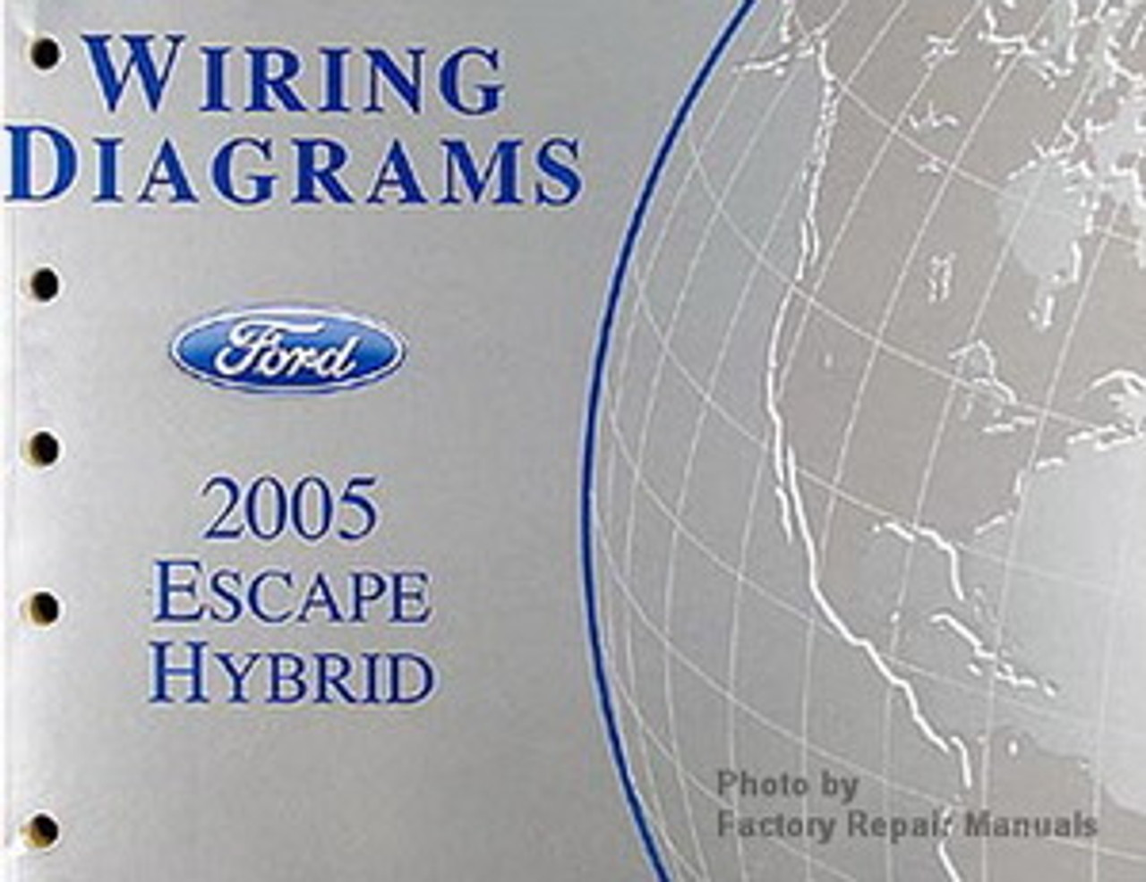 2005 Ford Escape Hybrid Electrical Wiring Diagrams Original - Factory  Repair Manuals | Hybrid Wiring Diagrams |  | Factory Repair Manuals