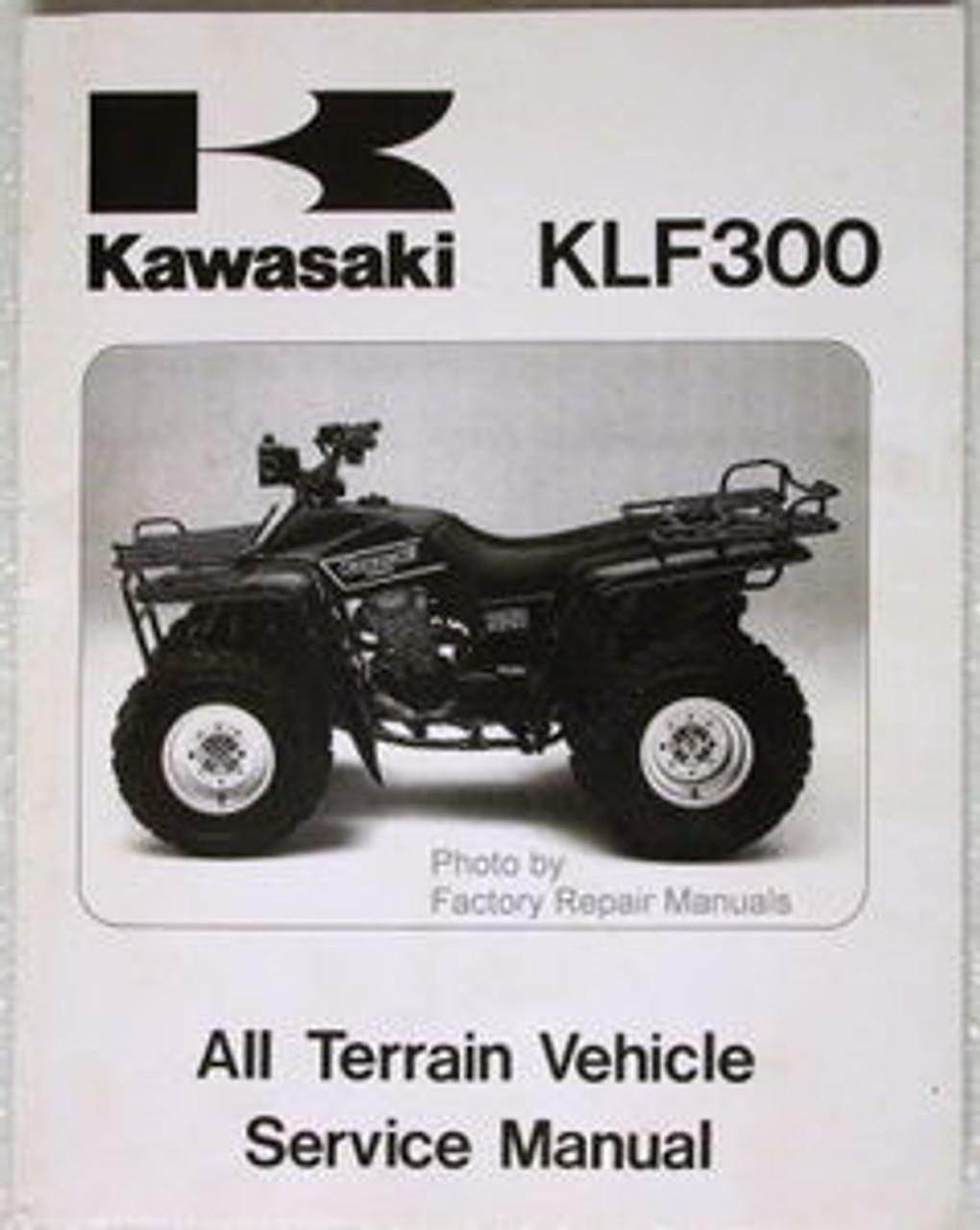 1986 1987 KAWASAKI BAYOU 300 ATV Factory Service Manual KLF300-A1 A2 Shop  Repair - Factory Repair ManualsFactory Repair Manuals