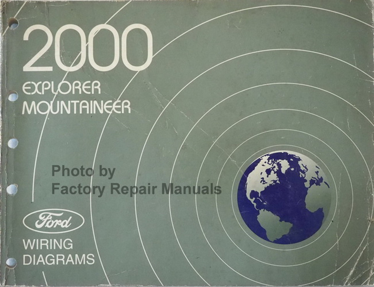 2000 Ford Explorer Mercury Mountaineer Electrical Wiring Diagrams Original Manual