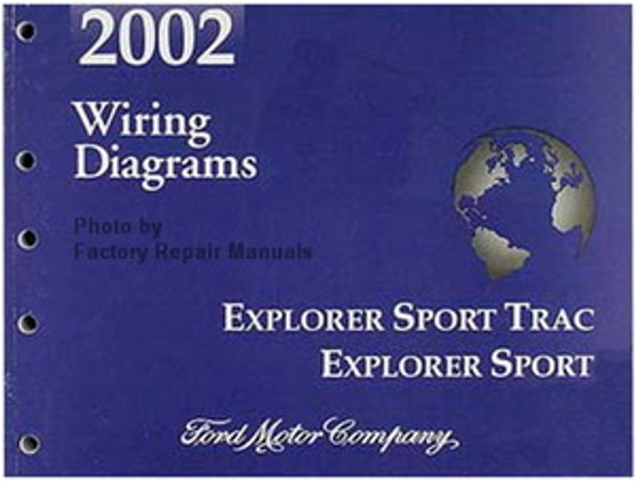 2002 Ford Explorer Sport Trac And Explorer Sport Wiring Diagrams Manual