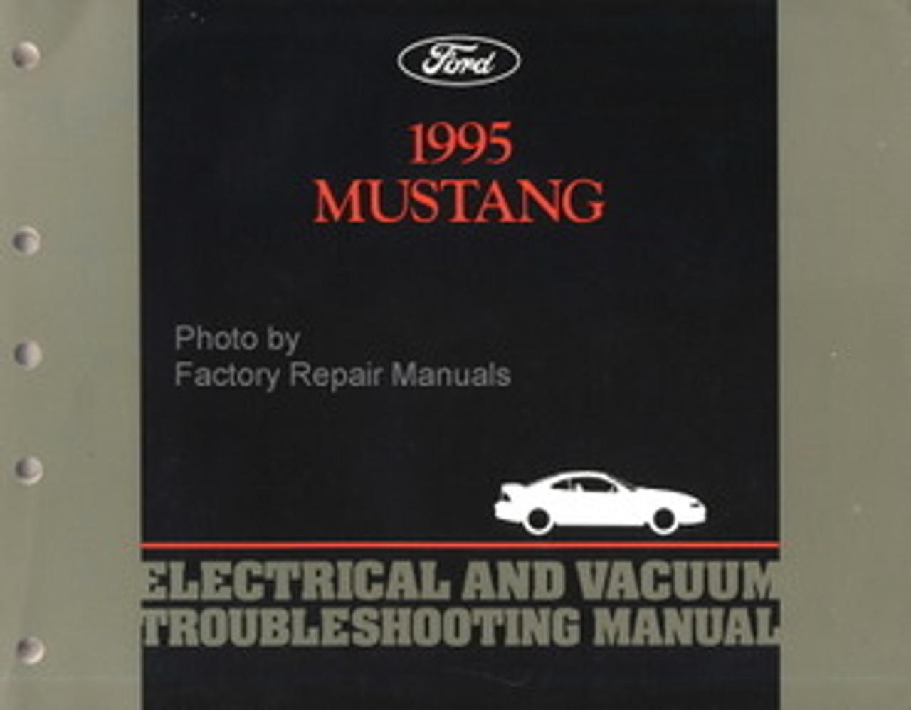 1995 mustang wiring diagram 1995 ford mustang electrical   vacuum troubleshooting manual  1995 ford mustang electrical   vacuum