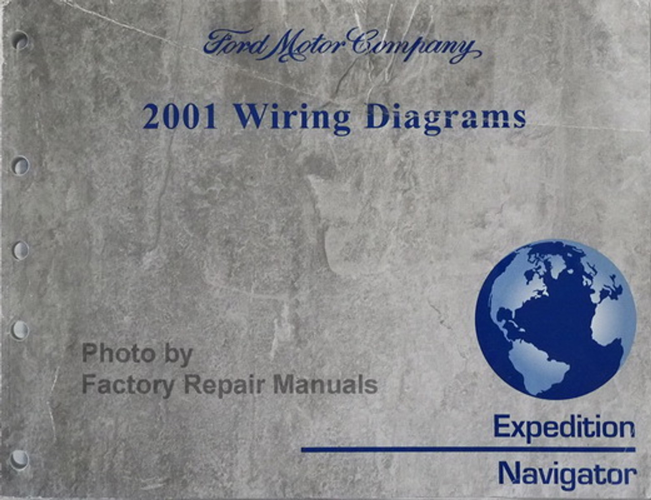 2001 2002 Ford Expedition Lincoln Navigator Electrical Wiring Diagrams Factory Repair Manuals