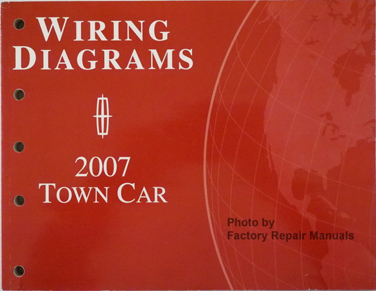 2007 Lincoln Town Car Electrical Wiring Diagrams Original