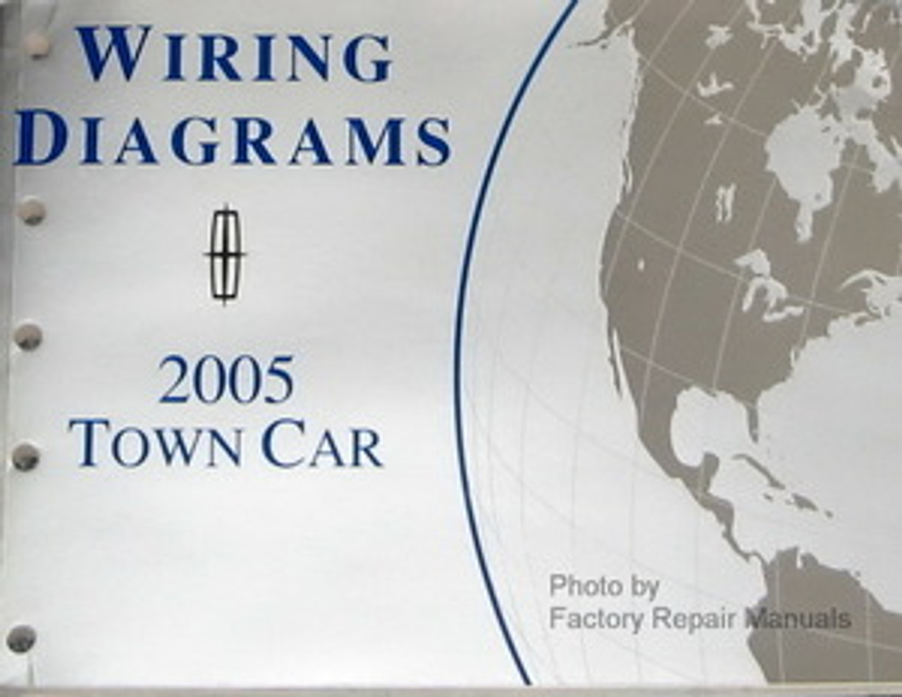 2005 Lincoln Town Car Electrical Wiring Diagrams Original
