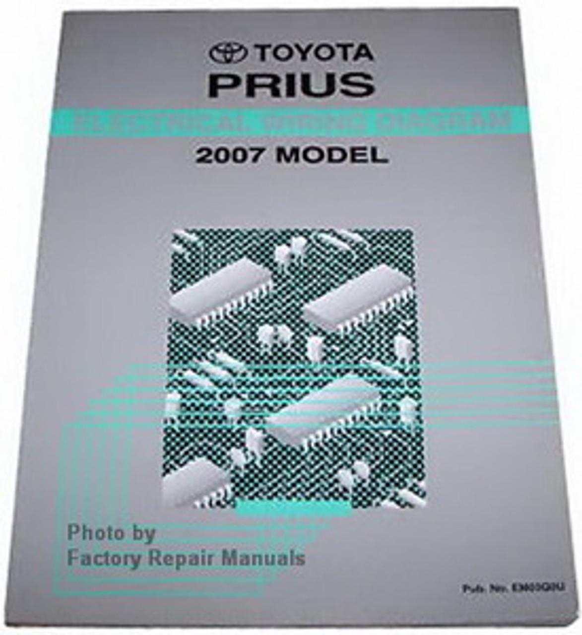 2007 Toyota Prius Electrical Wiring Diagrams