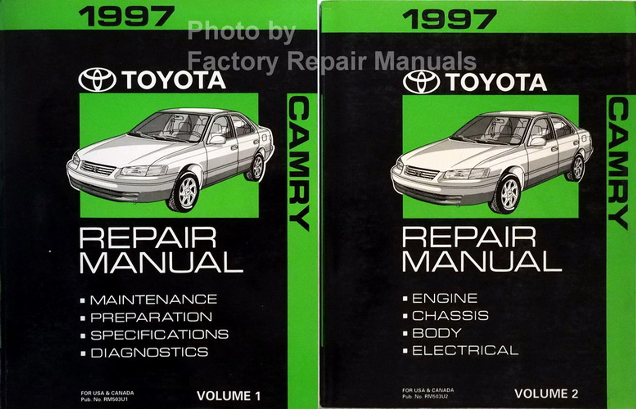 97 1997 Toyota Camry owners manual