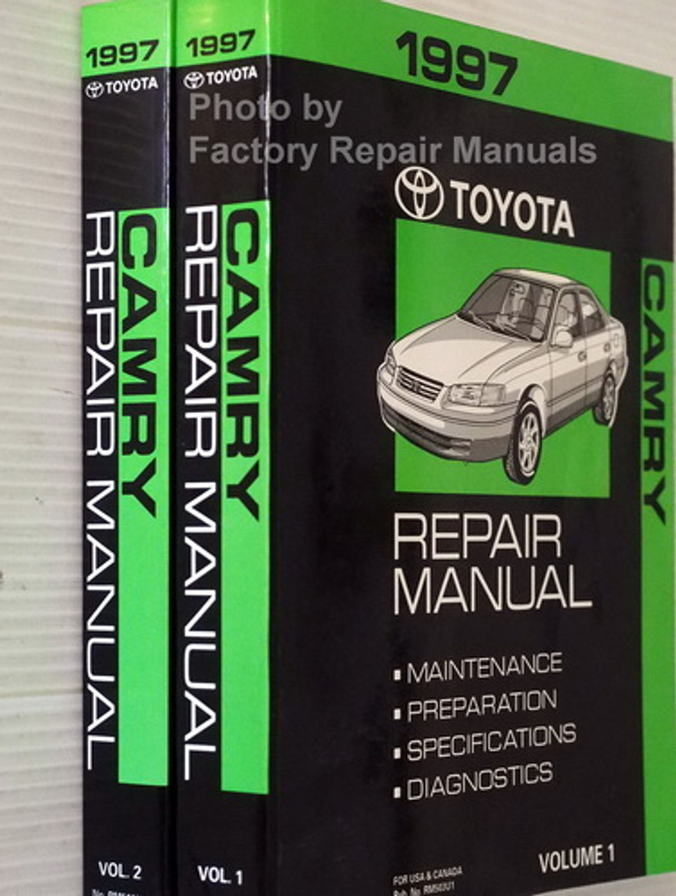 1998 Toyota Camry Factory Service Manual Set Original Shop Manual Guide