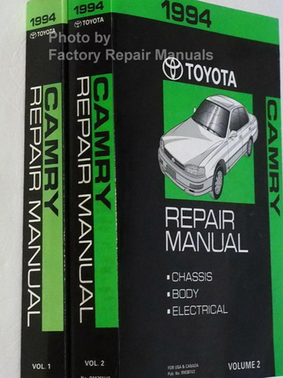 1994 Toyota Camry Factory Service Manual Set Original Shop Repair Factory Repair Manuals