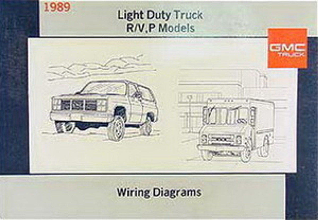 Diagram 1989 Chevrolet Gmc Light Duty Truck R V P Models Wiring Diagrams Manual Full Version Hd Quality Diagrams Manual Susperin Oltreilmurofestival It