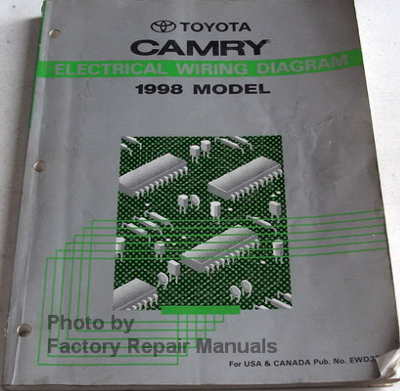 1998 toyota camry wiring schematic 1998 toyota camry electrical wiring diagrams original factory  1998 toyota camry electrical wiring