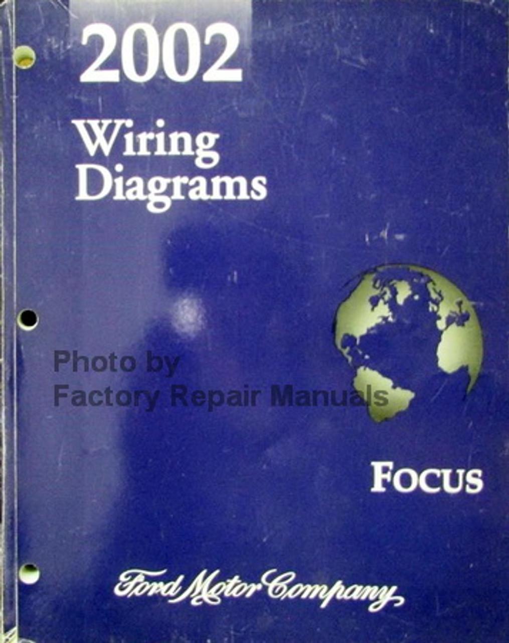 2002 Ford Focus Electrical Wiring Diagrams Original