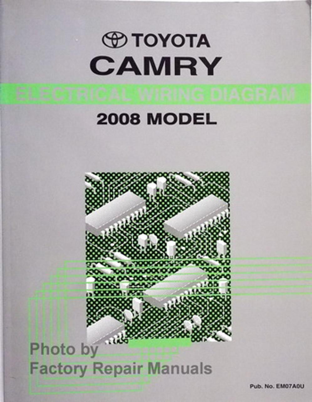 2008 Toyota Camry Electrical Wiring Diagrams Original Factory Manual -  Factory Repair ManualsFactory Repair Manuals
