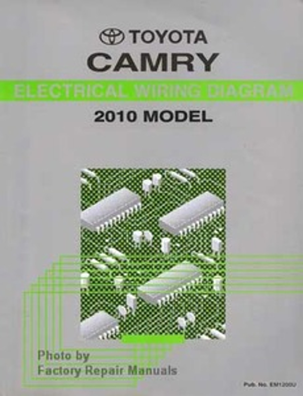 2010 Toyota Camry Electrical Wiring Diagrams