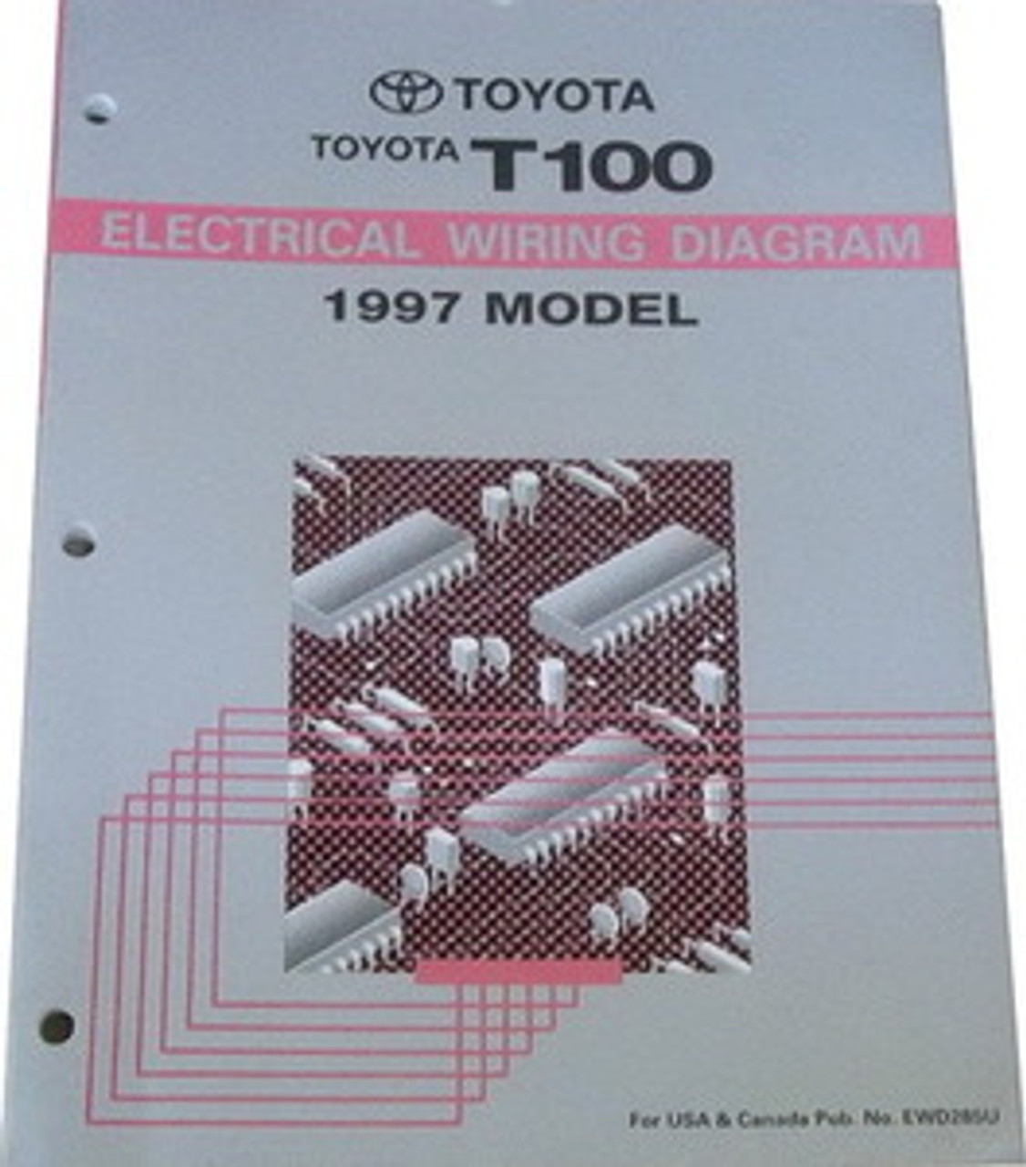 1997 Toyota T100 Truck Electrical Wiring Diagrams Original - Factory Repair  Manuals | 1997 Toyota T100 Wiring Diagram |  | Factory Repair Manuals