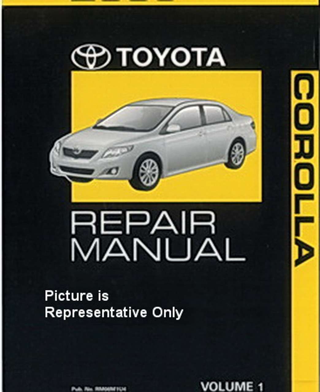 2001 Toyota Highlander Service Shop Repair Set 2 Volume