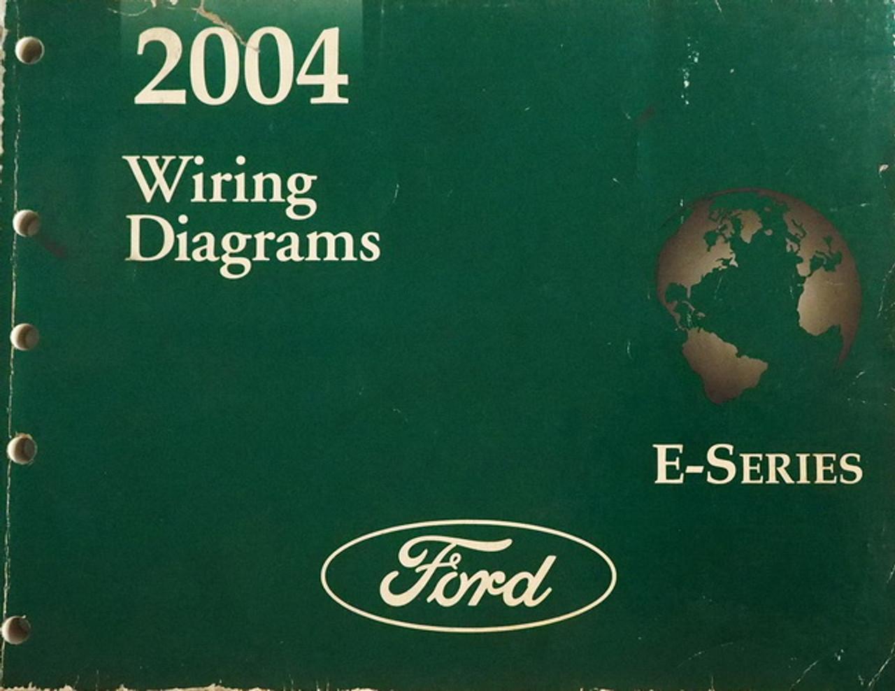2004 Ford Econoline Van Wagon E150 E250 E350 E450 Electrical Wiring Diagrams Factory Repair Manuals