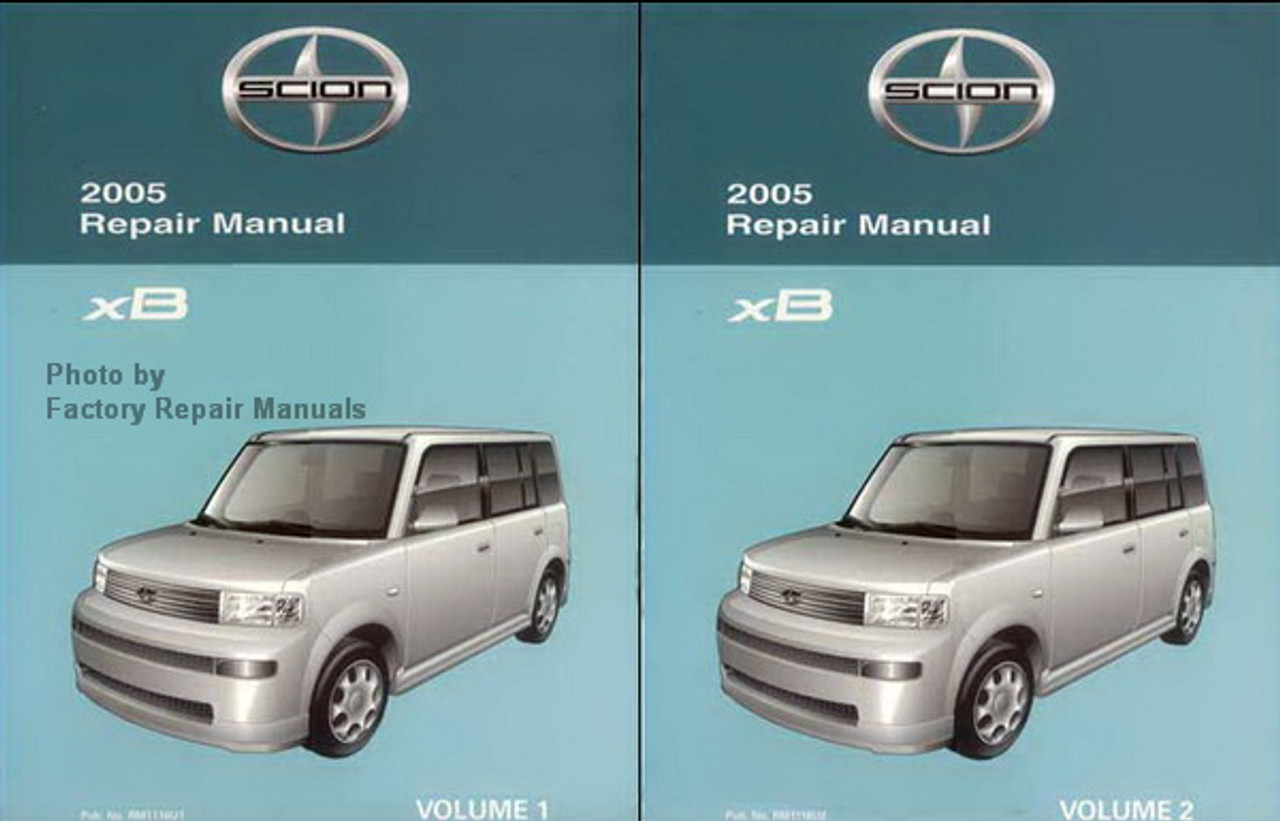2005 Scion Xb Factory Service Manual Set Original Shop Repair Factory Repair Manuals