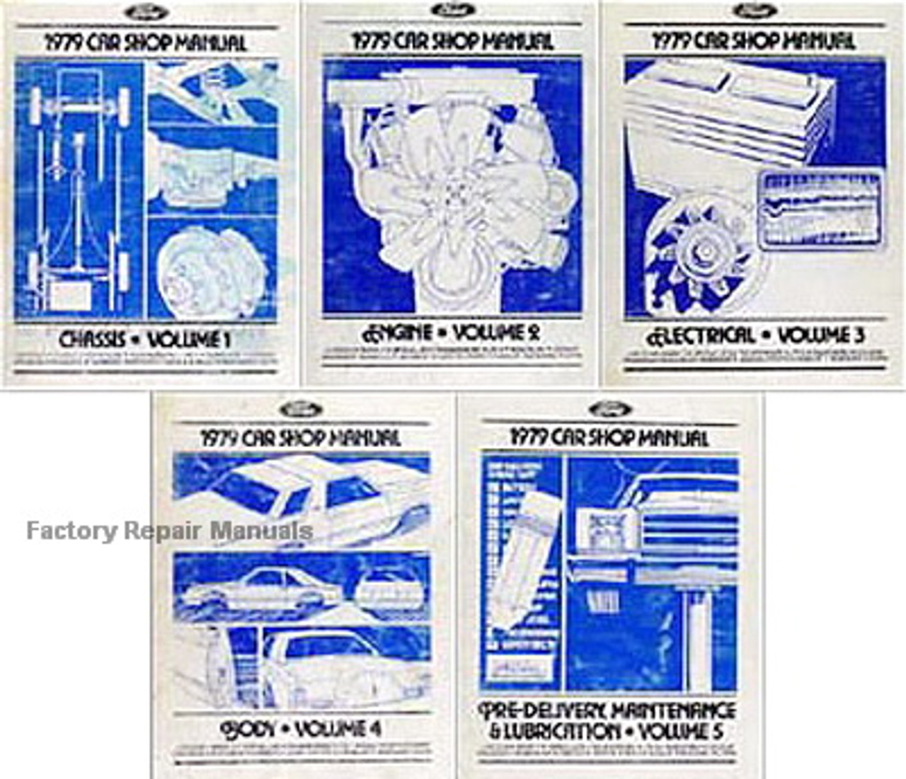 1979 Ford LTD Mercury Marquis Electrical and Vacuum Troubleshooting Manual