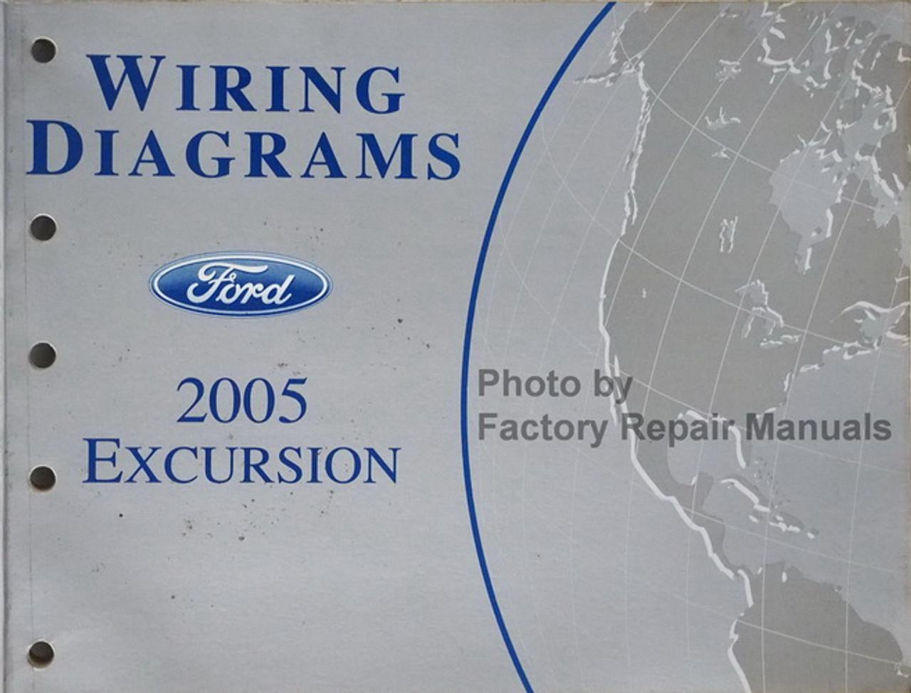 2005 Ford Excursion Electrical Wiring Diagrams Original Manual - Factory  Repair ManualsFactory Repair Manuals