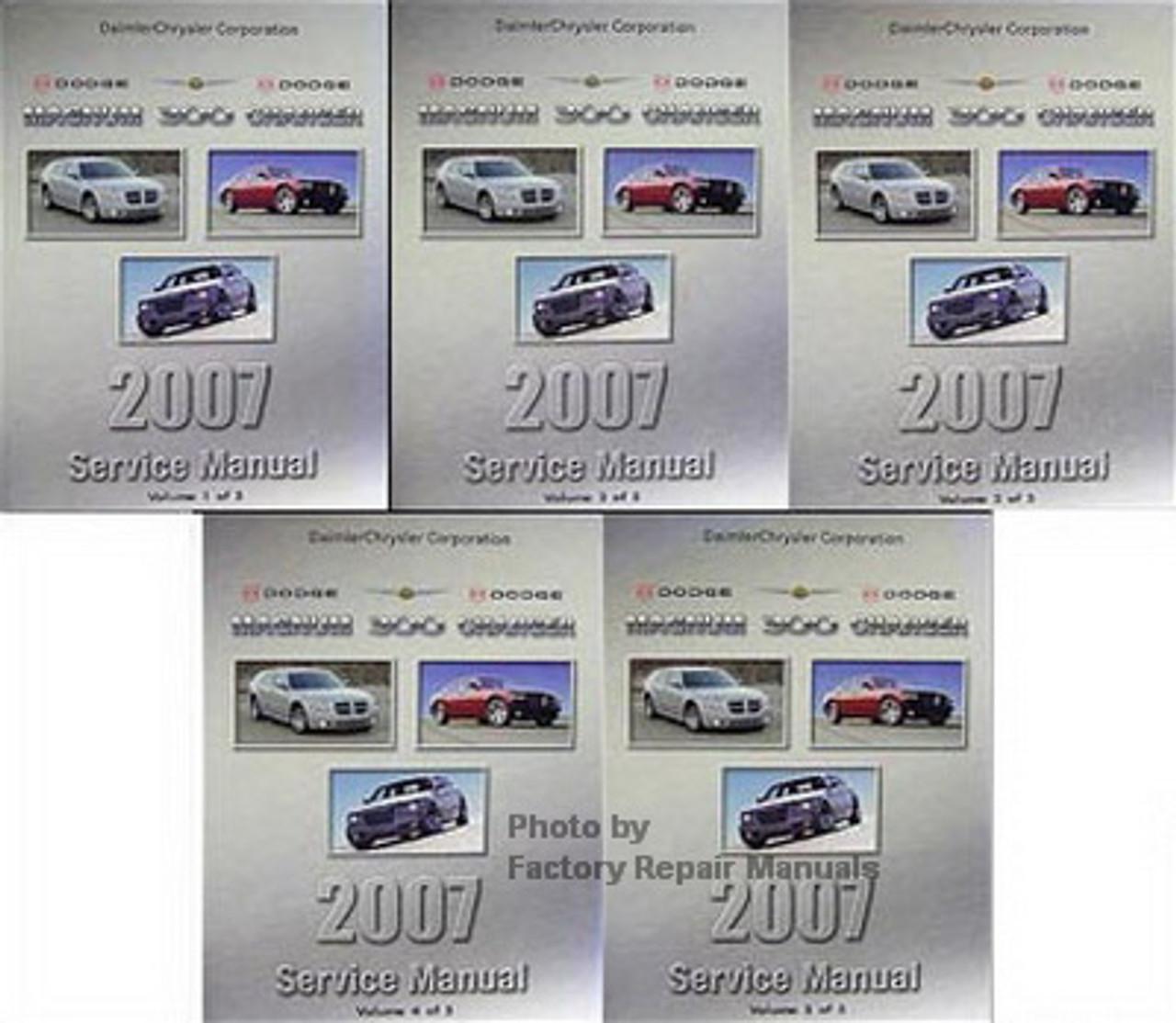 2007 Chrysler 300 300c Dodge Charger Magnum Factory