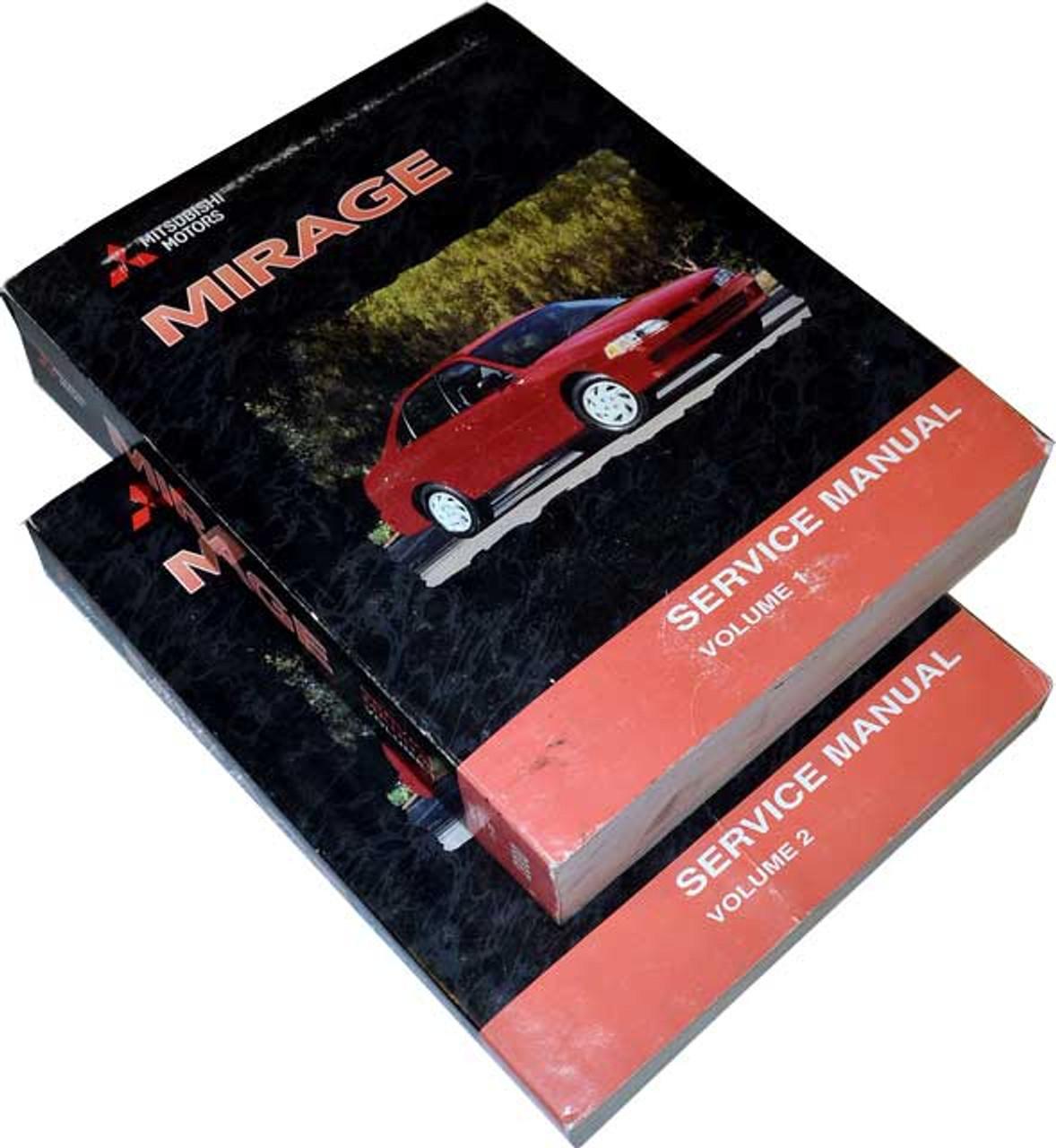 2000 Mitsubishi Mirage Factory Service Manual Set Original Shop Repair