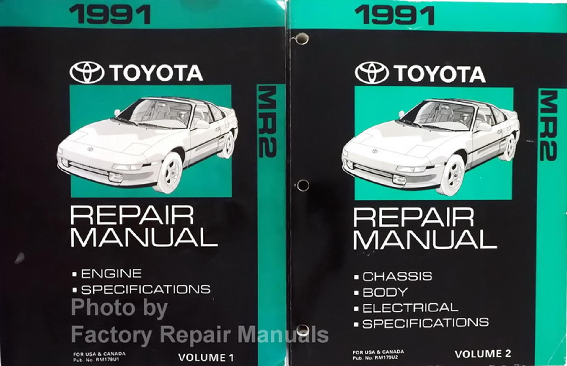 1991 Toyota Truck Electrical Wiring Diagrams Original