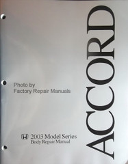 Honda Accord 2003 Model Series Body Repair Manual