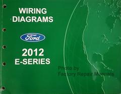 2013 Ford E150 E250 E350 E450 Econoline Van Electrical Wiring Diagrams Manual Original Factory Repair Manuals