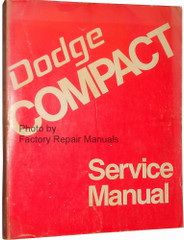 1974 Dodge Van B-100 B-200 B-300 Sportsman Service Manual