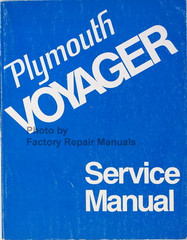 1974 Plymouth Voyager Service Manual