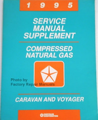 1995 Service Manual Supplement Compressed Natural Gas Caravan and Voyager
