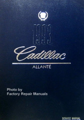 1993 Cadillac Allante Service Manual
