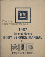 1987 General Motors Body Service Manual for Buick Cadillac Oldsmobile