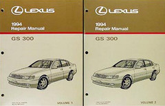 Lexus 1994 Repair Manuals GS 300