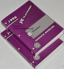 1996 Chevy Tracker Service Manuals GM JE Platform