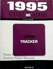 1995 Geo Tracker Service Manual GM JE Platform
