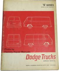 1968 1969 1970 Dodge Van CD Shop Manual A100 A108 Sportsman Repair Service