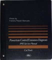 1992 Ford Lincoln Mercury Car & Truck Engine and Emissions Diagnosis Service Manual