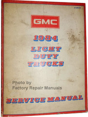 GMC 1994 Light Duty Trucks Service Manual
