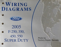 2008 Ford F250 F350 F450 F550 Super Duty Truck Electrical Wiring Diagrams New Factory Repair Manuals