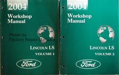 2001 Workshop Manual Lincoln LS Volume 1, 2