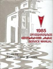 1985 Pontiac Grand Am Service Manual
