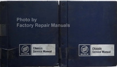 1986 Buick All Models Chassis Service Manual Volumes 1 & 2