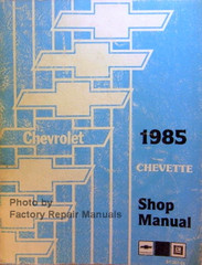 1985 Chevrolet Chevette Shop Manual