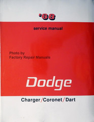 '68 Service Manual Dodge Charger/Coronet/Dart