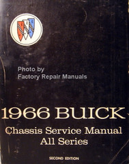 1967 Buick Chassis Service Manual All Series