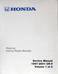 1997-2001- Honda CR-V Service Manual Front View